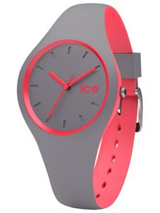 Ice-Watch DUO.DCO.S.S.16 ICE duo Dusty coral Small Uhr Damenuhr grau