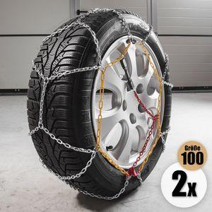 Diamond Car Schneeketten 'Alpin', Gr. 100, 2er Set