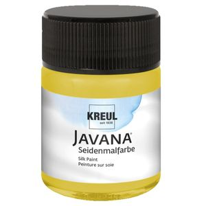 Javana Seidenmalfarbe, gelb, 50 ml