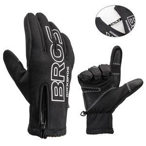 ROCKBROS Winter Herbst Handschuhe Fahrradhandschuhe Radsport Damen Herren XL