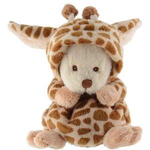 BARBARA BUKOWSKI Ziggy Giraffe Verwandlungsbär Teddybär 15 cm