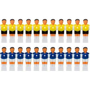 Tischfussballfiguren für 15,9 mm Vollstangen