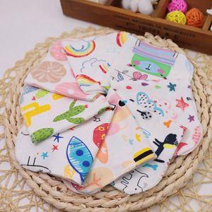 5 Stück Spucktücher, 5er-Pack extra saugfähige Spucktücher aus 100% Baumwolle,Farbe: zufällig