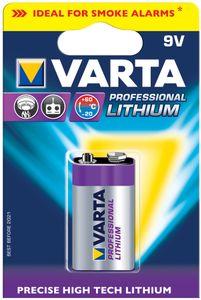 "VARTA Lithium Batterie ""Professional Lithium"" E Block (9V)"