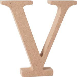 """VBS MDF Buchstabe Buchstabe """"V"""""""