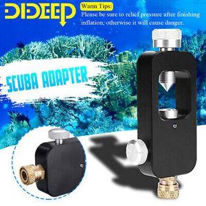 Dideep Sauerstoff Zylinder Refill Adapter Scuba Behälter Tauchen