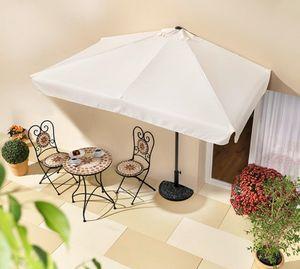 Sonnenschirm für die Wand, rechteckig