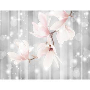 Blumen Magnolien 9427c RUNA Blumen Magnolien VLIES FOTOTAPETE XXL DEKORATION TAPETE− WANDDEKO 308 x 220 cm