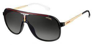 Carrera Eyewear sonnenbrille 1007/S 003/9O pilot men's schwarz/gold