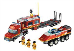 Lego City Mobile Feuerwehrzentrale