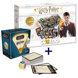 Cluedo Harry Potter  + Trivial Pursuit Harry Potter Edition 2019 Spiel Deutsch