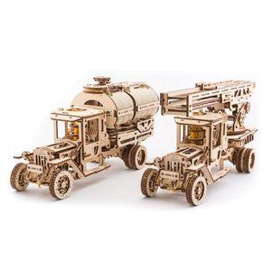Ugears - Holz Modellbau Zubehör Erweiterungsset für Truck UGM-11 LKW 322 Teile