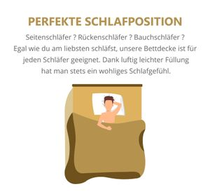 Schlafmond Märchenweich Sommerdecke 200x200 cm