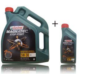 Castrol Magnatec Start-Stop 5W-30 C3  1+5 = 6 Liter