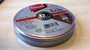 Makita D-65969-12 Trennscheibe 125x1,2mm INOX im 12-Pack