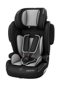 Osann Kindersitz Flux mit ISOFIX - 9 bis 36 kg (8 Monate bis 12 Jahre) - schwarz , grau