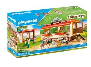 PLAYMOBIL 70510 Ponycamp-Übernachtungswagen