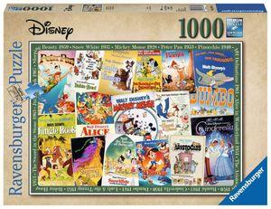 Disney Vintage Movie Poster Ravensburger 19874