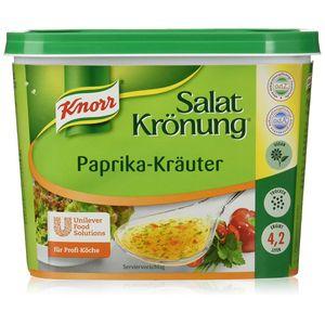 Knorr Salatkrönung Paprika Kräuter feines klares Dressing 500g
