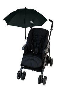 Altabebe - Universeller UV-Schirm für Kinderwagen - Schwarz, Onesize