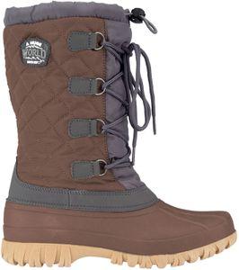 Winter-grip Damen Schneestiefel Sr Winter Wanderer Braun/Anthrazit Winter-Schuhe, Größe:41