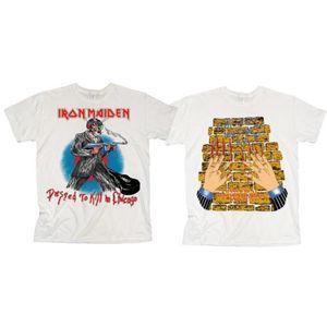 Iron Maiden Chicago Mutants Mens White T Shirt: X Large