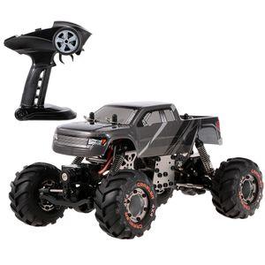HBX 2098B 1/24 2,4 GHz 4WD 4WS Devastator Rock Crawler RTR mit doppeltem Servo-Gelaendewagen