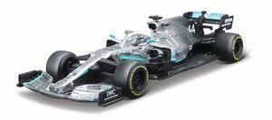 Mercedes Modellauto AMG Petronas F1 W10 EQ Power+ Hamilton (Maßstab 1:43)