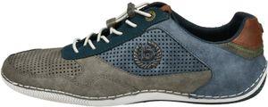 bugatti Herren Sneaker Sneaker Low Synthetik grau 43