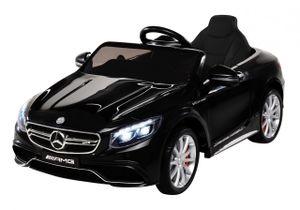 Kinder Elektro Mercedes Benz AMG S63 Kinderauto Kinderfahrzeug Elektroauto (Schwarz)