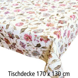 Tischdecke BLUMEN 170x130cm (15-2048-06)