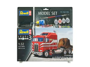 Revell Model Set Kenworth Aerodyne - Auto-Modellbausatz; 67671
