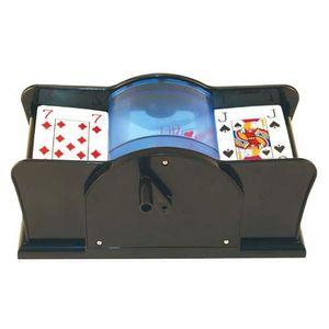 Kartenmischmaschine Kartenmischer Mischmaschine für Poker Skat Romme Canasta