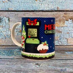 Merry Christmas Game Over Weihnachten Tasse