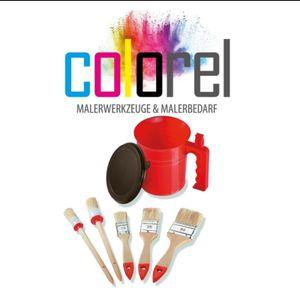 """🔥Pinselset """"Colorel 5"""" ✅Rundpinsel ✅Flachpinsel 💯%Zufriedenheit"""