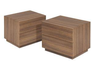 Nachttisch aus MDF Siempa - 43 x 37 x 28 cm