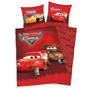 DisneyŽs Cars Bettwäsche / Kinderbettwäsche, 100% Baumwolle ( Renforcé ), 80x80 + 135x200 cm