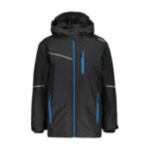 Cmp Boy Jacket Long Fix Hood Nero Nero 176