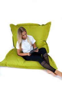 SNOOZER® Riesensitzsack Indoor Outdoor XXL Sitzsack 400l Füllung Lime Green