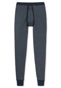 Schiesser Herren lange Unterhose Hose Lang Box - 154800, Größe Herren:8, Farbe:dunkelblau