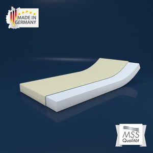 """MSS® """"Activity"""" - Kaltschaummatratze H2 Formbeständig 12 cm hoch inkl. Bezug - 190 x 90 cm"""