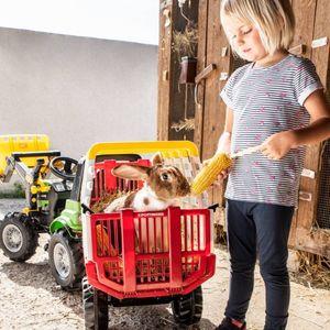 Rolly Toys anhänger RollyHay Pöttinger 83 cm rot/weiß