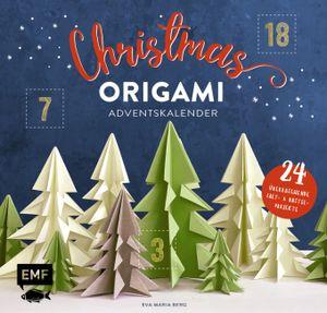Mein Adventskalender-Buch: Origami Christmas