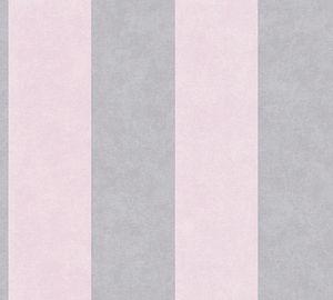 A.S. Création Vliestapete Memory 3 Tapete grau rosa 10,05 m x 0,53 m 329903 32990-3