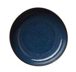 ASA Pastateller, midnight blue     SAISONS D. 21 cm, H. 5,5 cm 27231119 ! Vorteilsset beinhaltet 6 x den genannten Artikel und Set mit 4 EKM Living Edelstahl Strohhalme