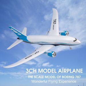QF008 Boeing 787 Flugzeug Miniatur Modell Flugzeug 3CH 2.4G Fernbedienung EPP Flugzeug RTF RC Spielzeug