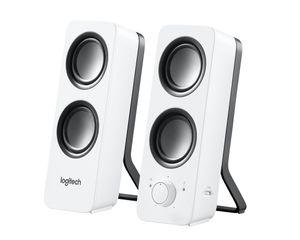 Logitech Z200, 2.0 Kanäle, Verkabelt, 10 W, Weiß