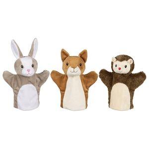 Handpuppen Tiere, 3er Set