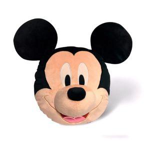 Disney 3D-Kissen Mickey Mouse 52 cm Samt schwarz/beige
