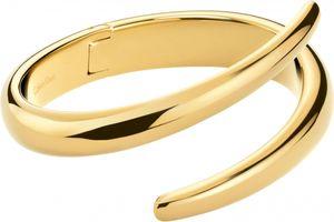 Calvin Klein Jewelry Embrace KJ2KJD1001 Damenarmreif Massiv gearbeitet, Armreifgröße:XS (54x43mm/194mm)